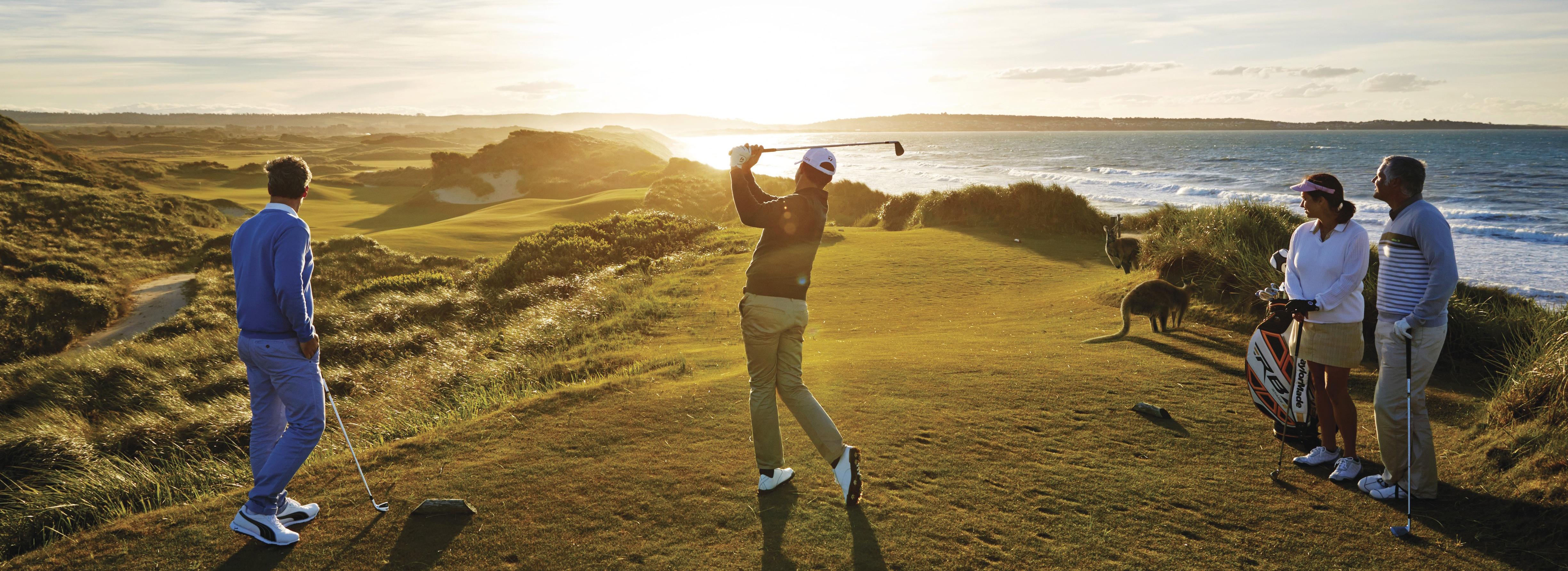 Tour chơi golf tại Úc
