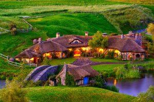 Làng cổ Hobbit New Zealand