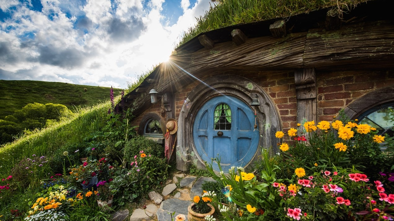 làng hobbiton new zealand 5